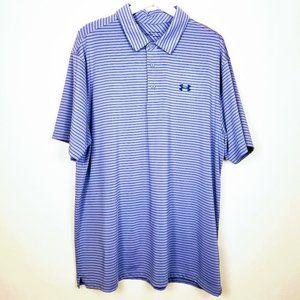 Men's Under Armour HeatGear Golf Shirt - 2X